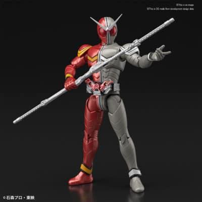 Double Heat Metal Figure-Rise Pose 1
