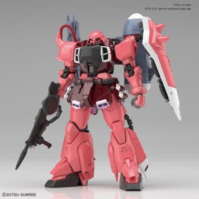 Master Grade Gunner Zaku Warrior (Lunamaria Hawke Custom) Pose 1