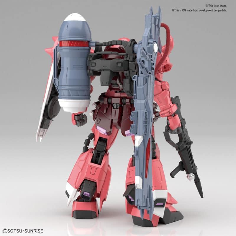 Master Grade Gunner Zaku Warrior (Lunamaria Hawke Custom) Pose 2