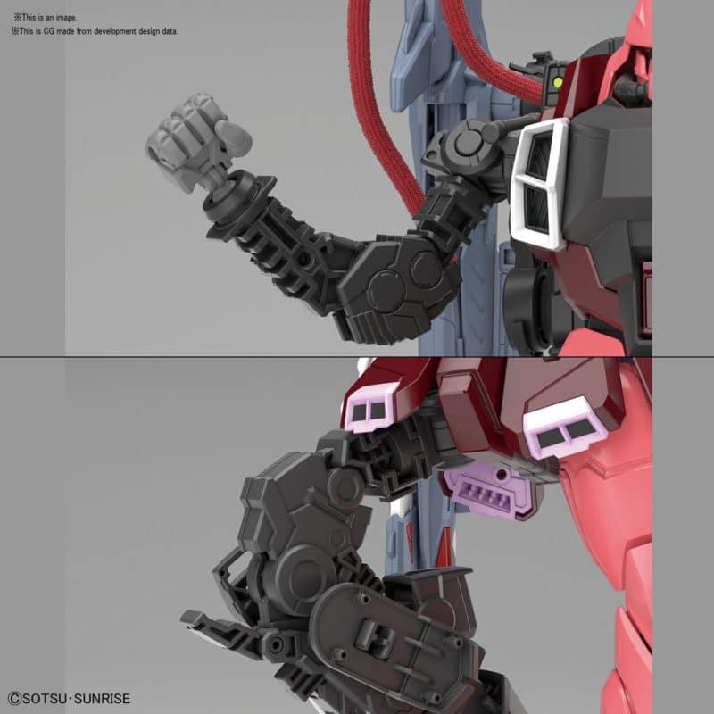 Master Grade Gunner Zaku Warrior (Lunamaria Hawke Custom) Pose 7