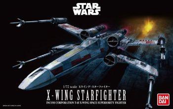 1/72 X-Wing Starfighter Pose 1