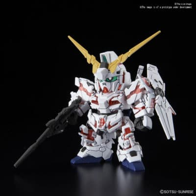 SDGCS Unicorn Gundam (Destroy Mode)Pose 1