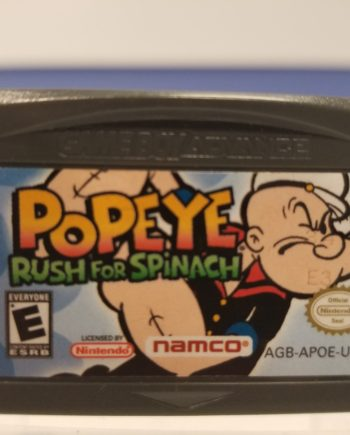 Popeye Rush for Spinach Front