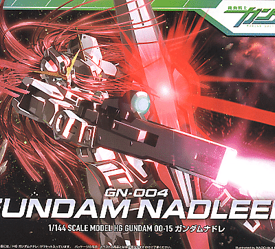High Grade Gundam Nadleeh Box