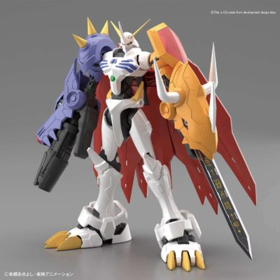 Omegamon Amplified Figure Rise Pose 1