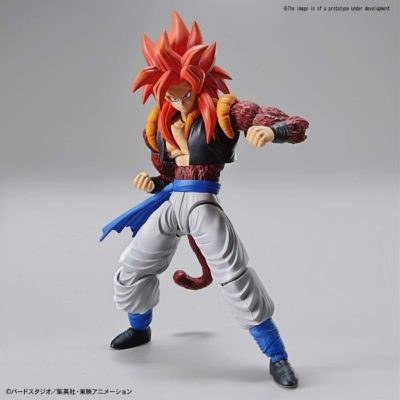 Super Saiyan 4 Gogeta Figure Rise Kit Pose 1
