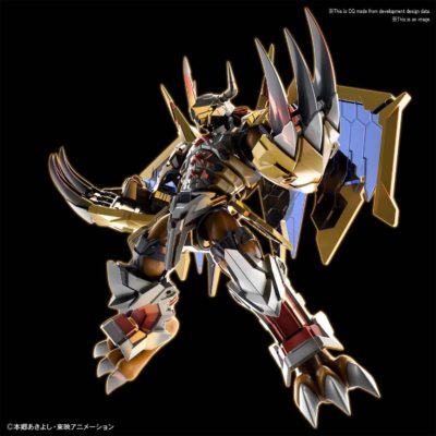 Wargreymon Amplified Figure Rise Pose 1