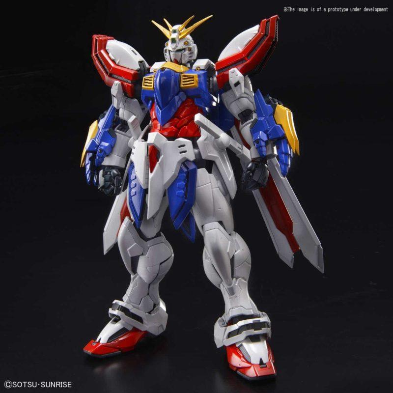 Hi-Resolution God Gundam Pose 1