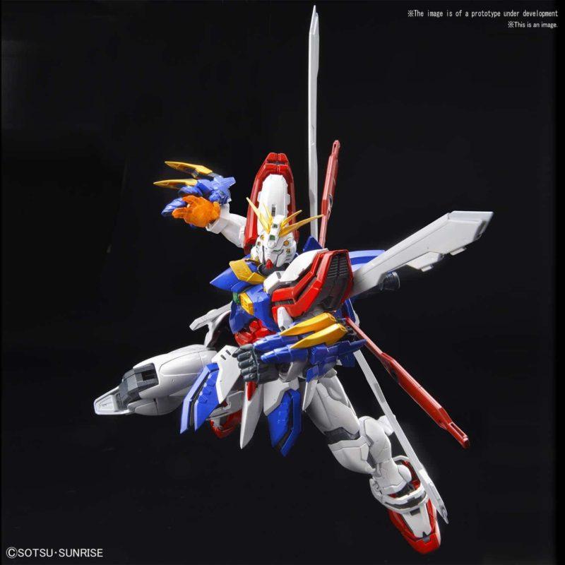 Hi-Resolution God Gundam Pose 2