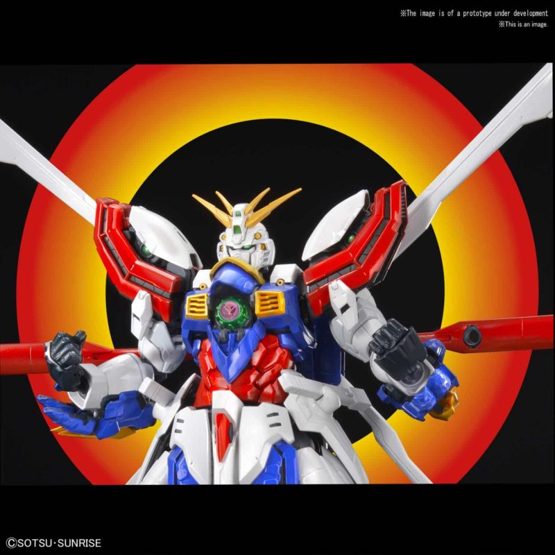Hi-Resolution God Gundam Pose 5