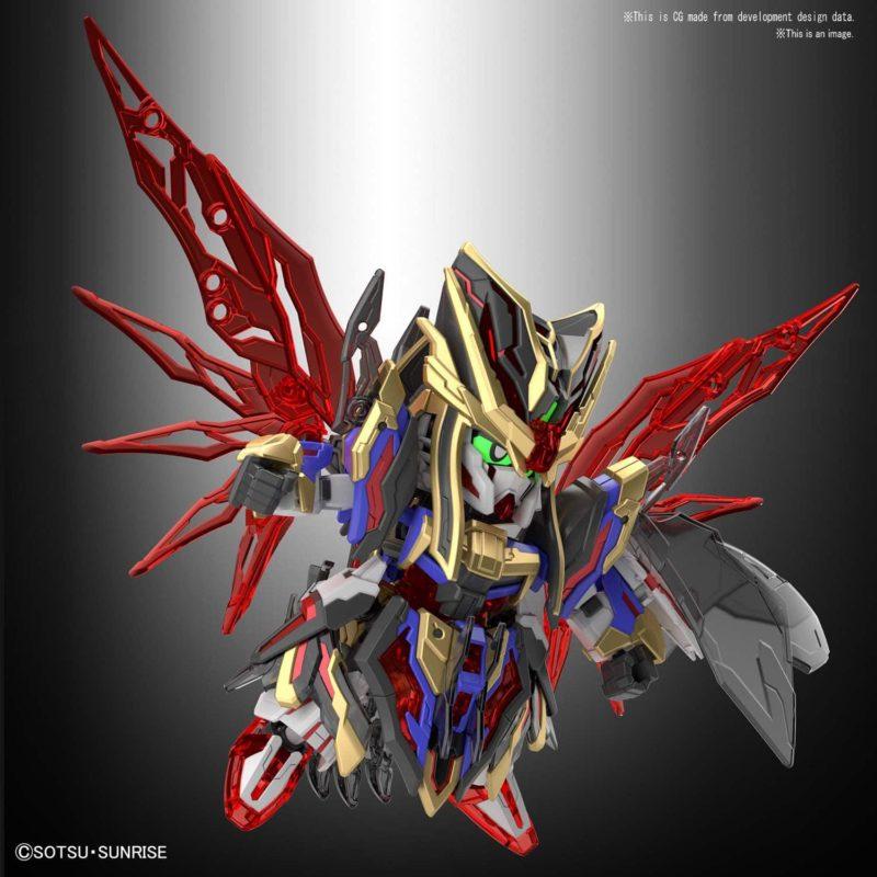 Sima Yi Destiny Gundam Pose 2