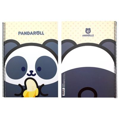 Pandaroll Wirebound Notebook