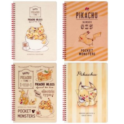 Pokemon Clear Spiral Notebook