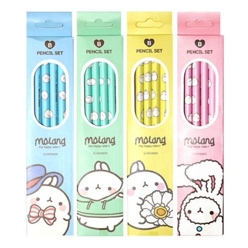 Molang Pencil Set