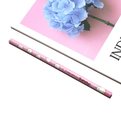 Molang Pencil Set Pink