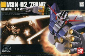 High Grade MSN-02 Zeong Box