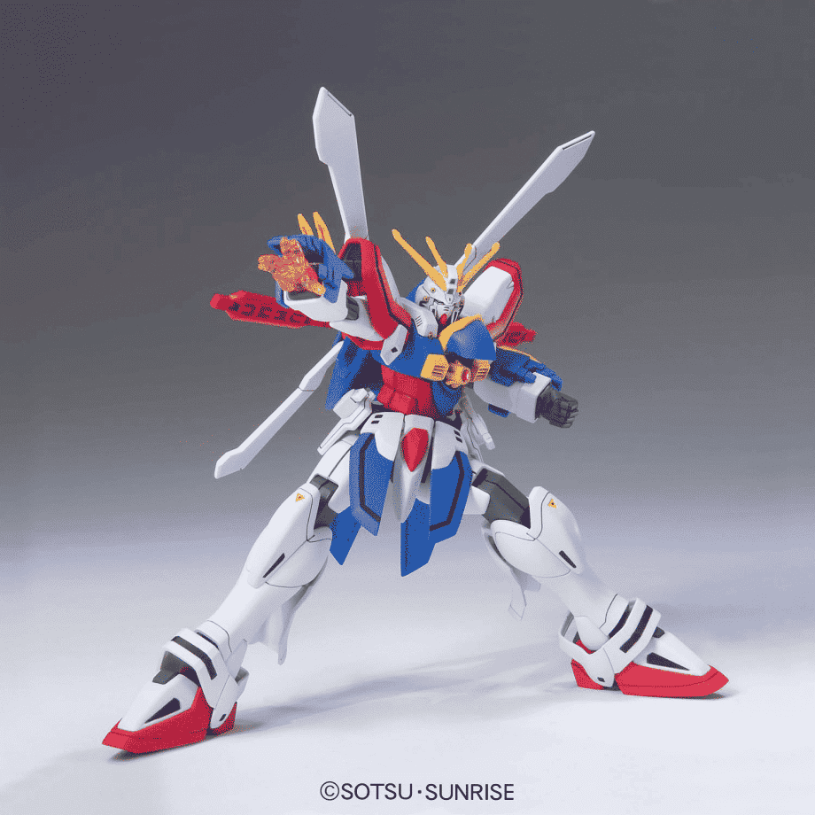 1/144 High Grade God Gundam Pose 3