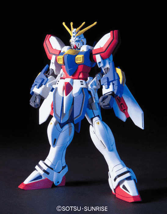 1/144 High Grade God Gundam Pose 1