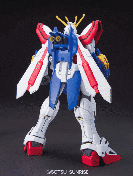 1/144 High Grade God Gundam Pose 2