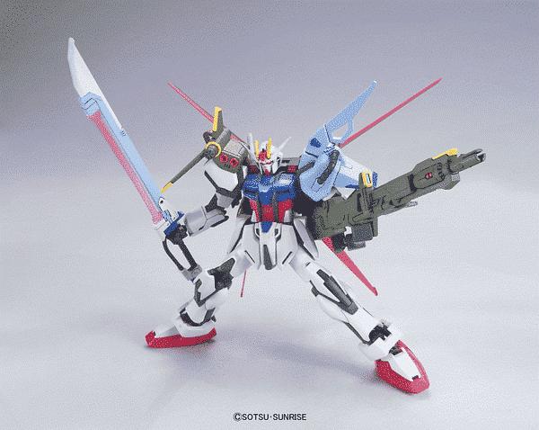 High Grade Perfect Strike Gundam Pose 2