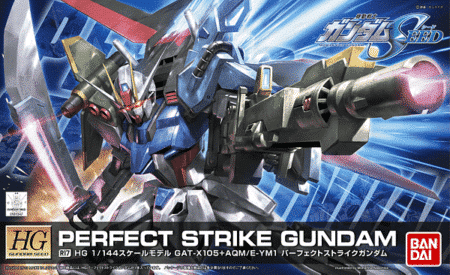 High Grade Perfect Strike Gundam Box