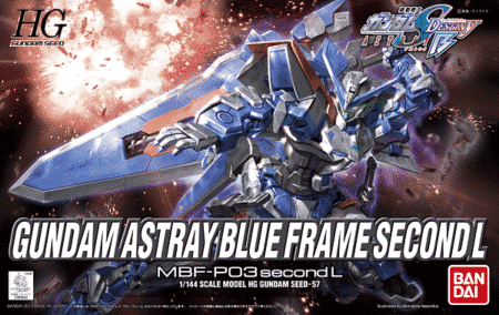 Gundam Astray Blue Frame Second L Box
