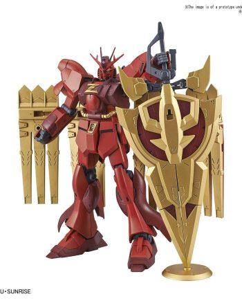 High Grade Nu-Zeon Gundam Pose 1