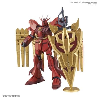 High Grade Nu-Zeon Gundam Pose 1