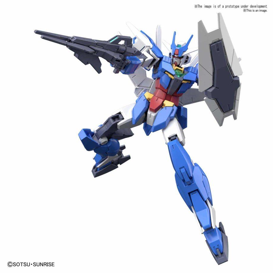 Earthree Gundam Pose 2