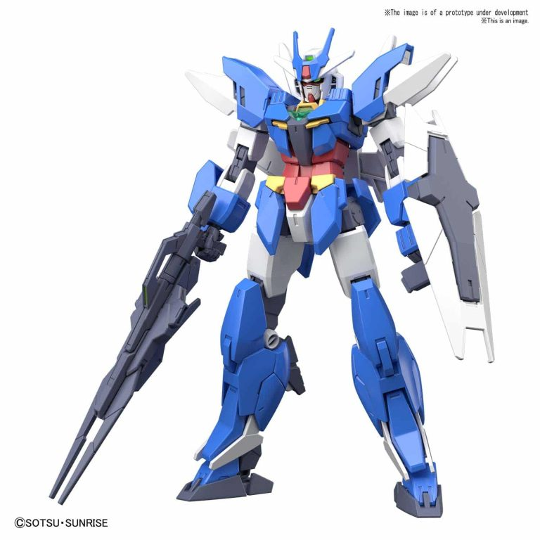 Earthree Gundam Pose 1