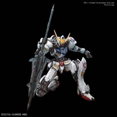 Master Grade Gundam Barbatos Pose 1