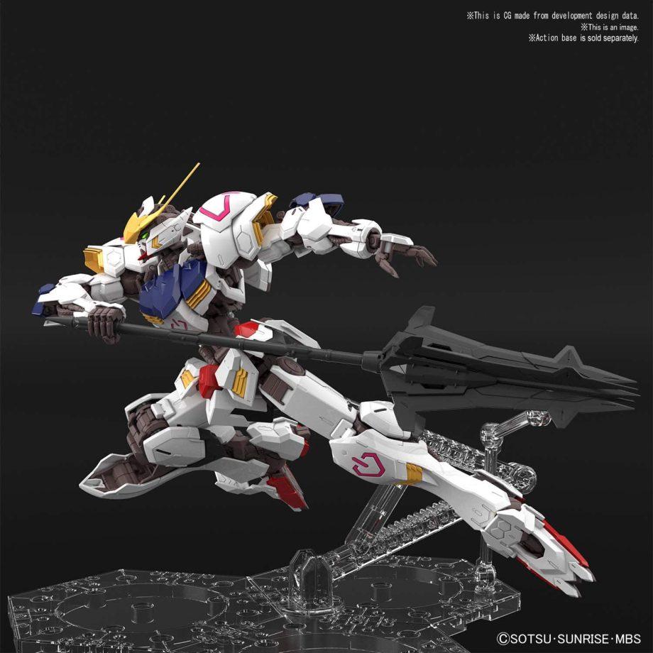 Master Grade Gundam Barbatos Pose 2