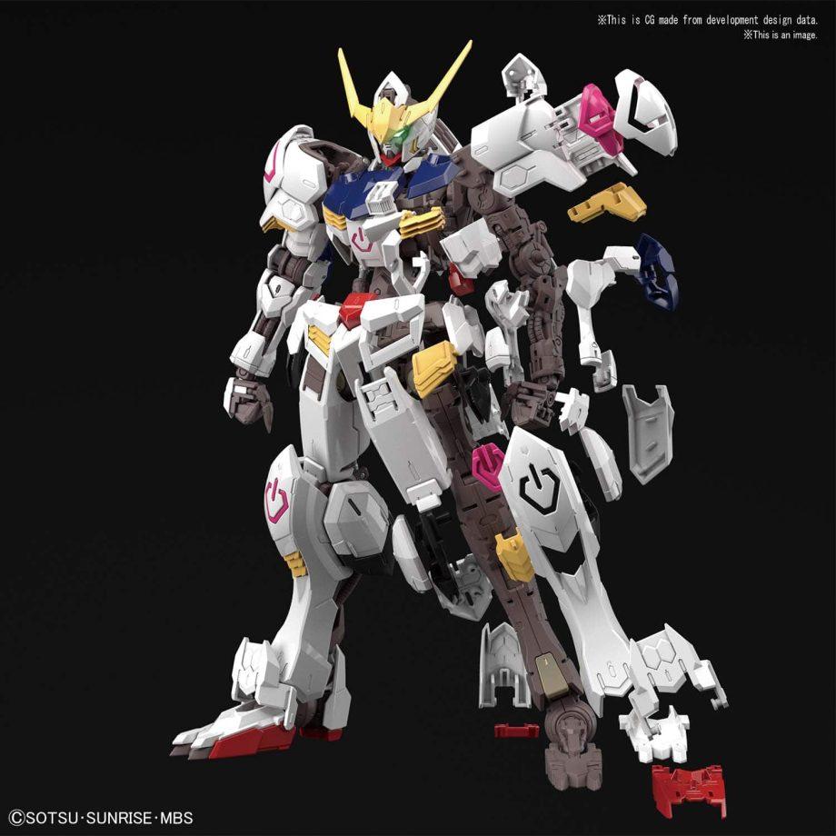 Master Grade Gundam Barbatos Pose 5