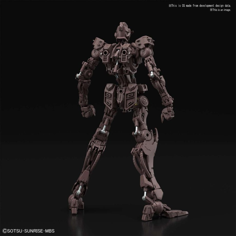 Master Grade Gundam Barbatos Pose 7