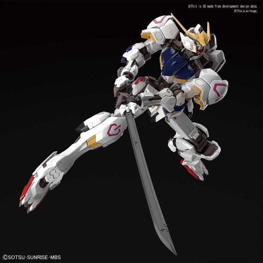 Master Grade Gundam Barbatos Pose 3