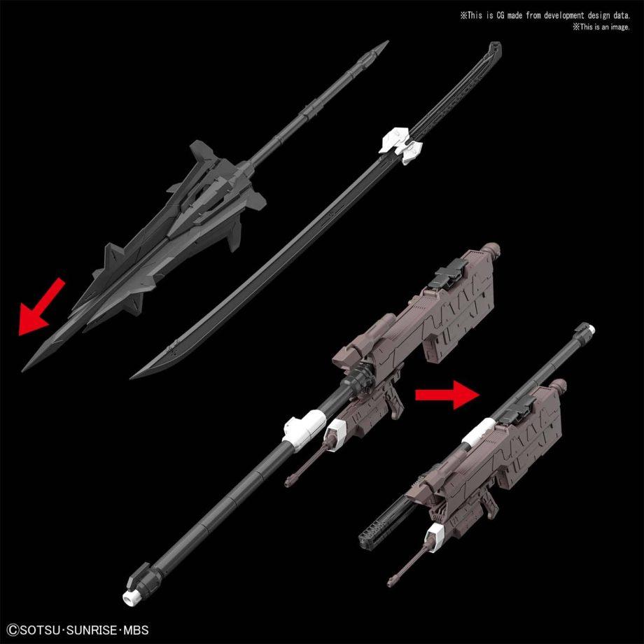Master Grade Gundam Barbatos Pose 8