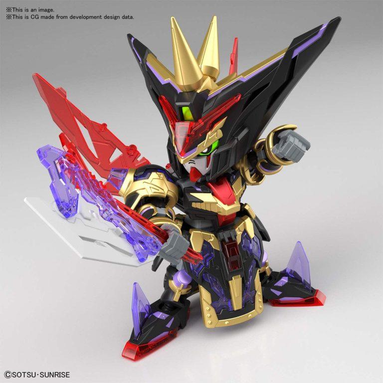 Dian Wei Master Gundam Pose 1
