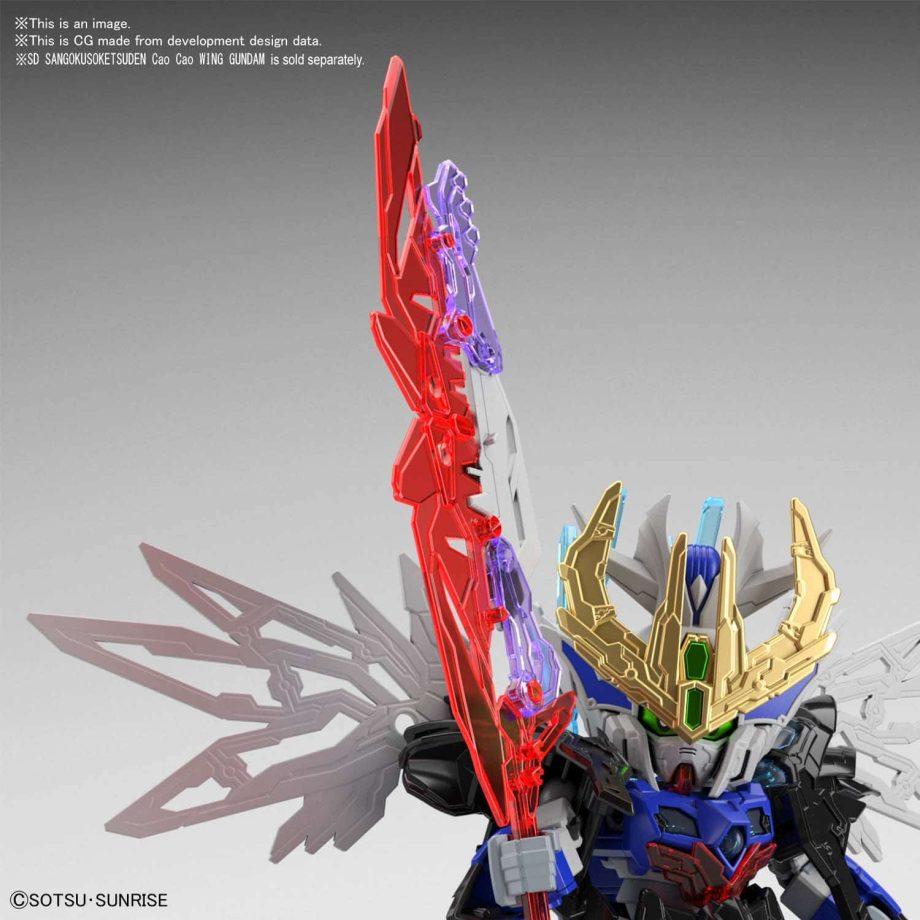 Dian Wei Master Gundam Pose 4