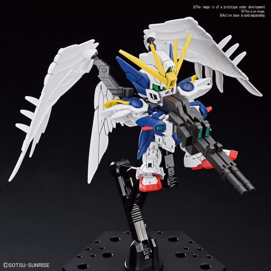 SDGCS Wing Gundam Zero EW Pose 3