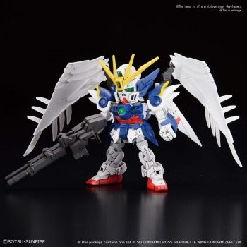 SDGCS Wing Gundam Zero EW Pose 1