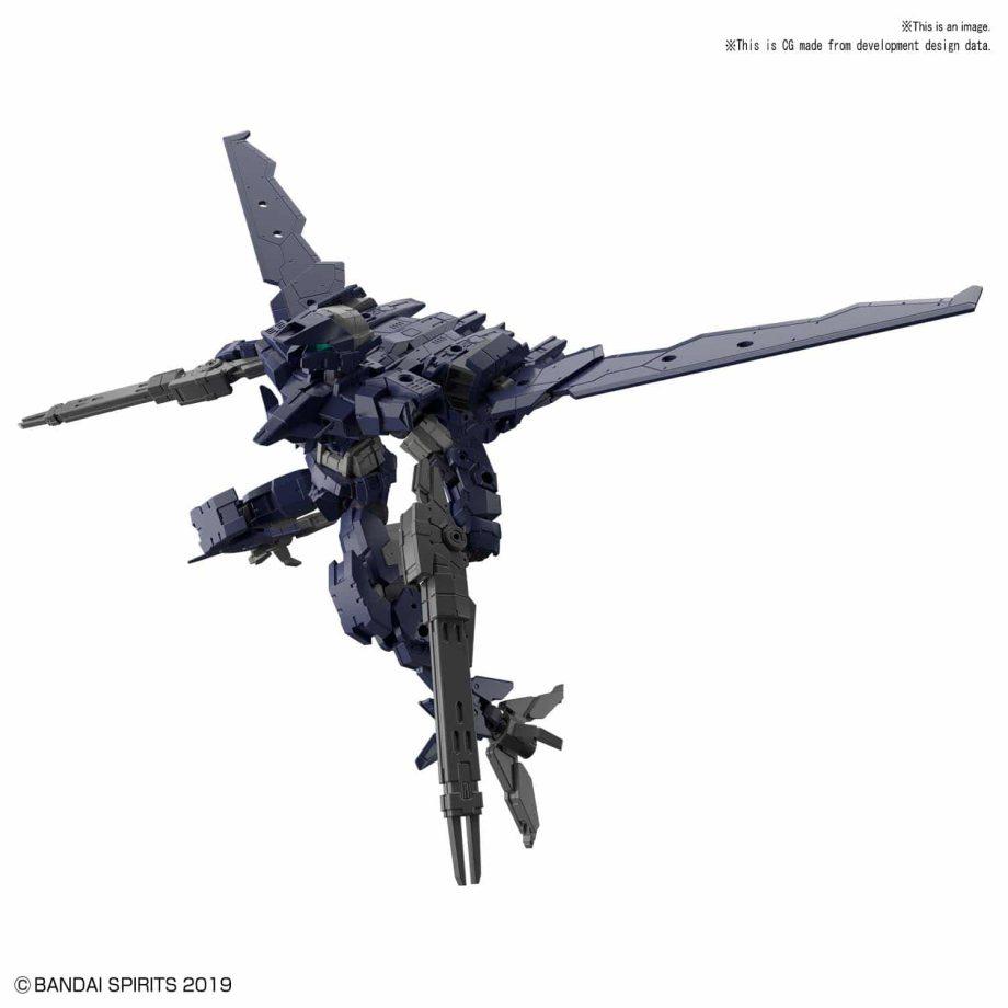 Alto Flight Type Navy Pose 1