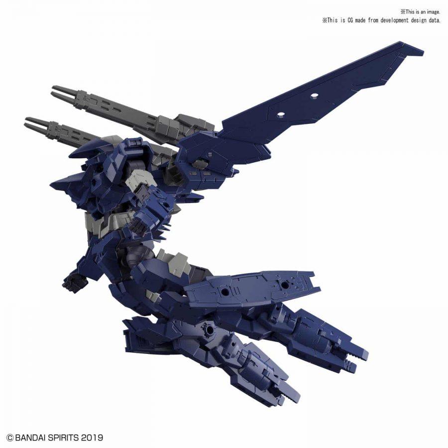 Alto Flight Type Navy Pose 2