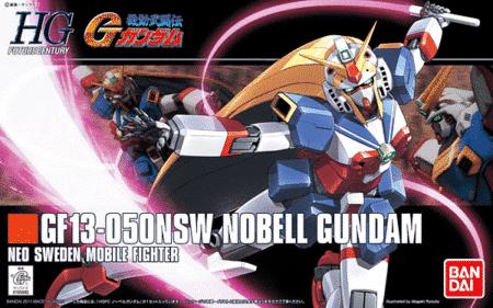 High Grade Nobell Gundam Box