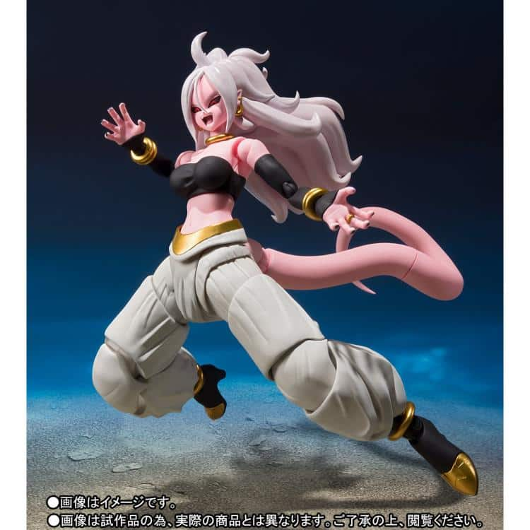 Dragon Ball FighterZ Android 21 SH Figuarts Pose 2