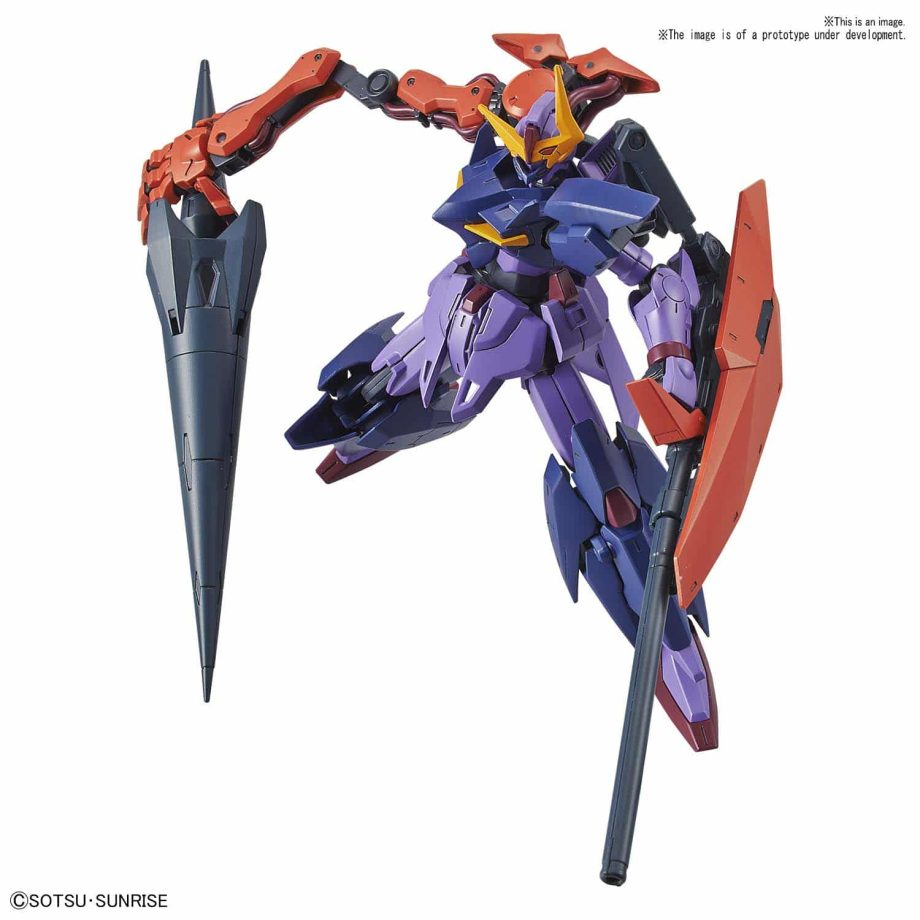 High Grade Gundam Seltsam Pose 3