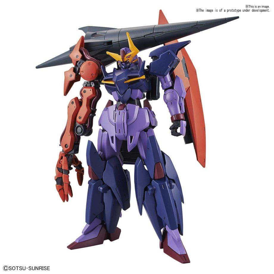 High Grade Gundam Seltsam Pose 1