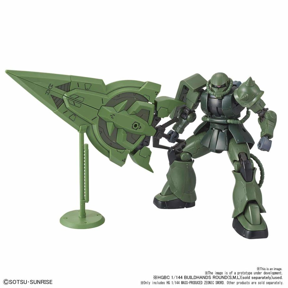High Grade Mass-Produced Zeonic Sword Pose 1