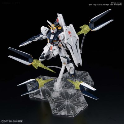 Real Grade Νu Gundam Fin Funnel Effect Set Pose 1