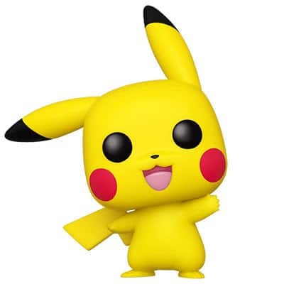 Pikachu Pop! Vinyl Figure (Waving)