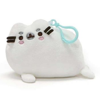 Pusheen Seal Plush with Clip